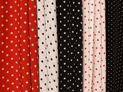 pattern, textile, red, polka dot, interior design, design,