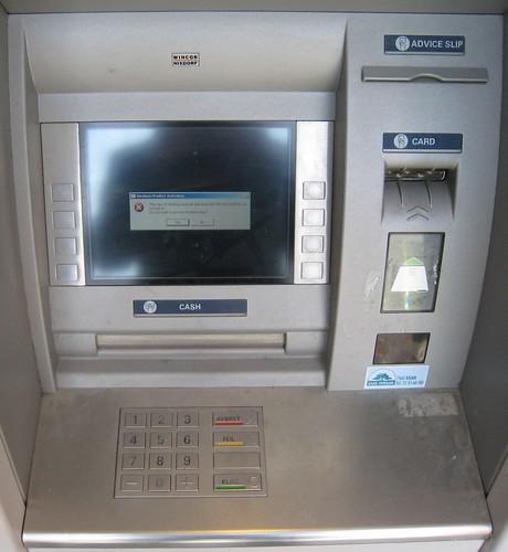 ATM Windows Error - 無料写真検索fotoq
