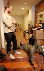 Bill supervising Kris