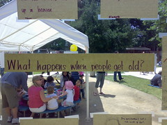 preschoolers thoughts on aging