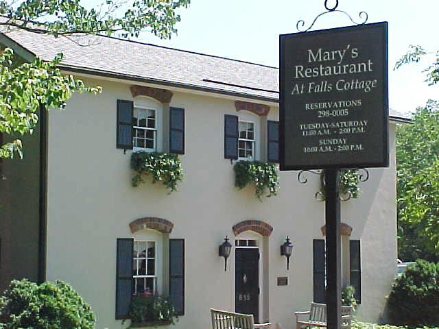 Mary 39 S Restaurant At Falls Cottage Greenville Flickr