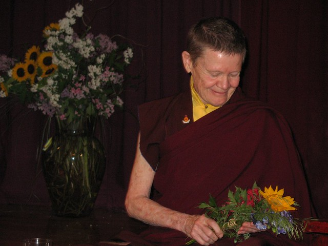 Pema Chodron and Richard Reoch May 2007 007