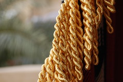 close-up, rope,