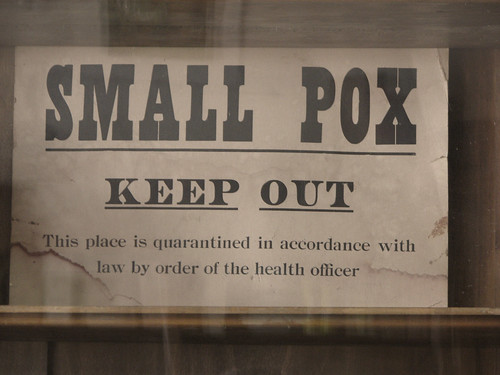 Bonanzaville_45 - Small Pox Sign