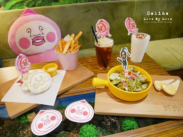 台北東區主題餐廳醜比頭的秘密花園輕食咖啡屁桃 (38)