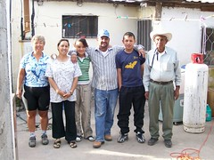 Josefina and Dionisio and the Family in Balleza