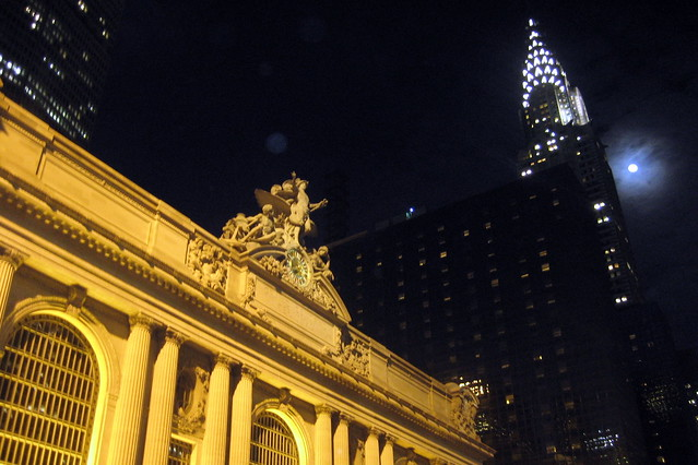 NYC - Grand Central Terminal and Chrysler Building