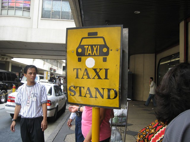 Phillippines-Taxi Stand