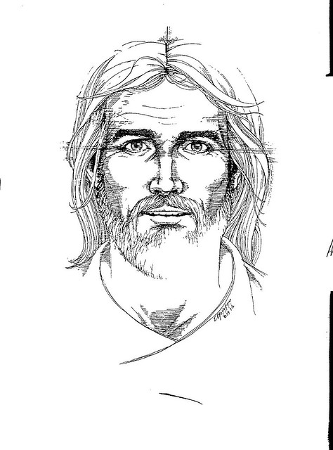Line Drawing Of Jesus Face : Line drawing of jesus explore johnsimac sbcglobal s