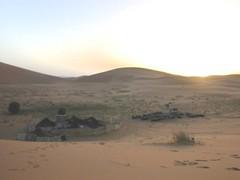 steppe(0.0), plateau(0.0), wadi(0.0), erg(1.0), sand(1.0), plain(1.0), aeolian landform(1.0), natural environment(1.0), desert(1.0), dune(1.0), landscape(1.0),