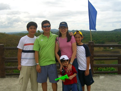 Family pic at Sagbayan Peak