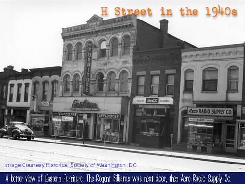 500 block south, H Street NE