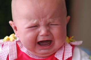 Crying baby / a4gpa, via Flickr