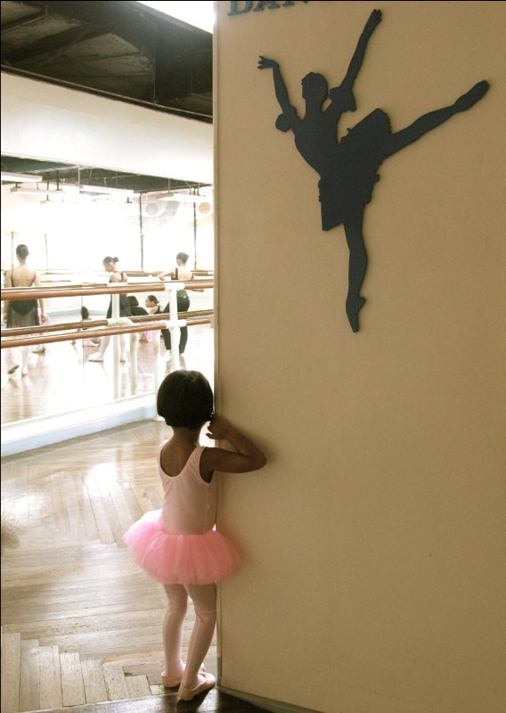 First day of ballet lessons