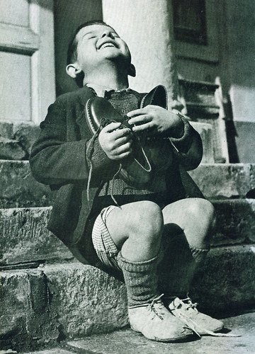 """New Shoes"" by Gerald Waller, Austria 1946"