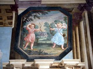 ภาพของ Palazzo Arese Borromeo. love angels arrows violence palazzo maderno cesano areseborromeo
