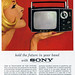 1960s Advertising - Magazine Ad - Sony (USA)
