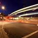 Trafalgar Square and Traffic Trails by kayodeok