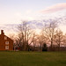 dawn, Shaker Village, Pleasant Hill, Kentucky