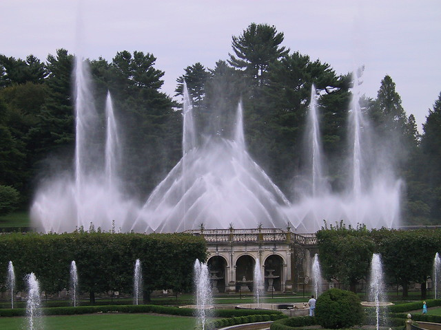 Longwood Gardens Fountains 1 Flickr Photo Sharing