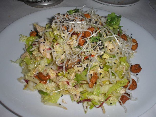how to make asian cashew chicken salad