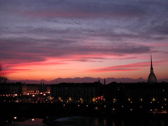 pinking sky