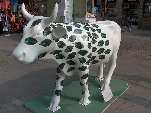 Cow parade 10 flickr photo sharing for Design parade milano