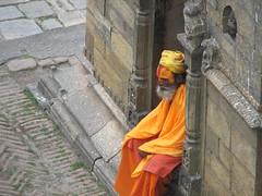 Nepal - Kathmandu - 018 - Sadhu at Pashupatinath Temple