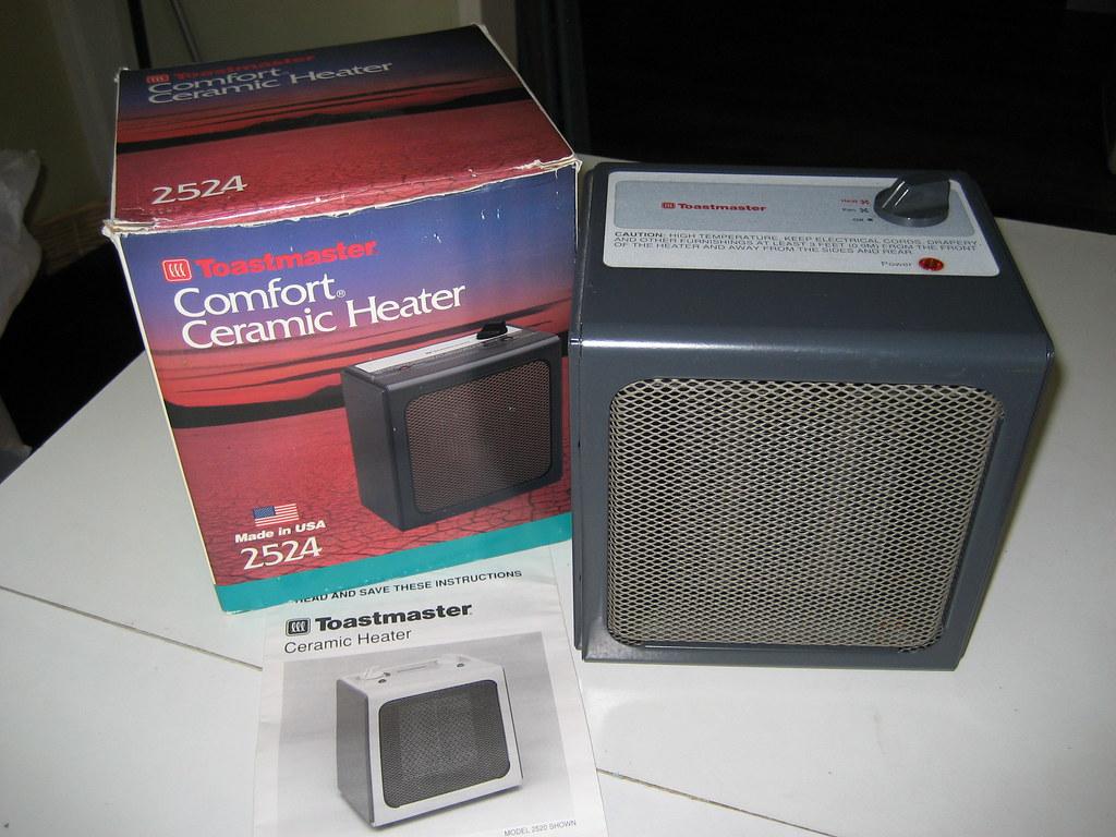 Toastmaster Comfort Ceramic Heater