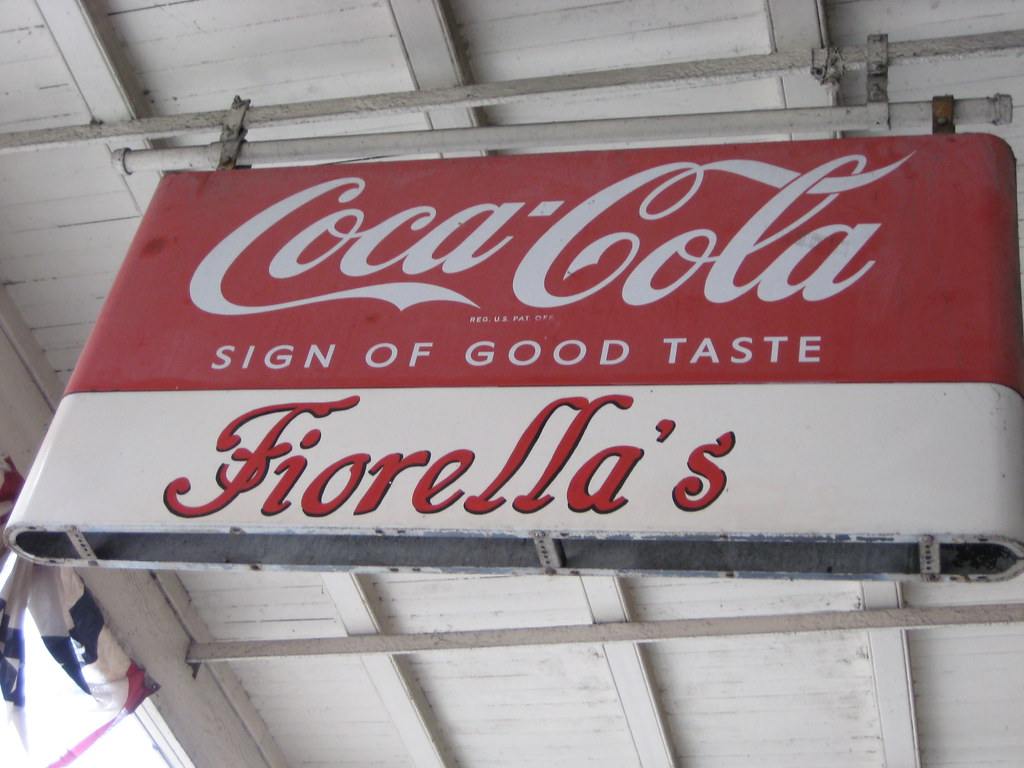 fiorella's sign | fried chicken mecca on decatur | Diana