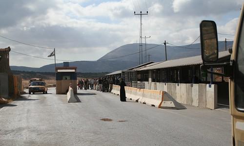 Checkpoint Beit Furik (Westbank)