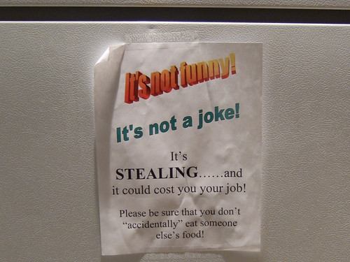 Flickr: The Furious Fridge Notes - Lunch Thieves, Beware! Pool