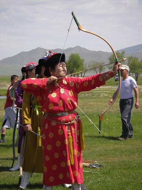 Archery Zunharaa naadam