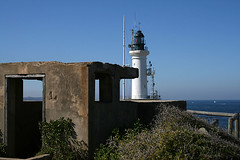 Point Lonsdale bunker and lighthouse