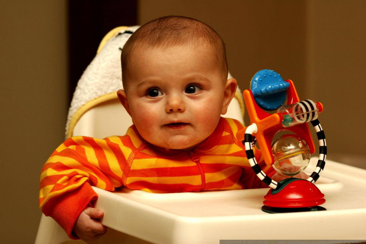 Orange Infant Car Seat And Stroller