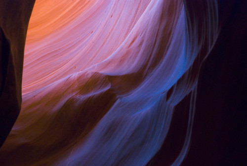 Antelope Canyon Colors
