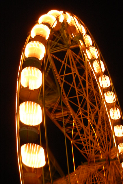 THE WHEEL AGLOW (Sta. Rosa, Laguna, Philippines)