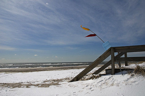 Fire Island in Winter by Alida's Photos