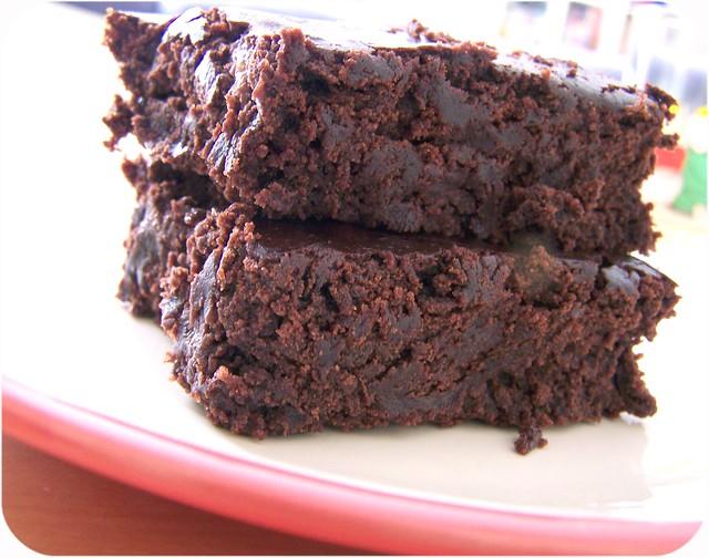 Vegan brownie | Flickr - Photo Sharing!