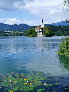 Island on Lake Bled