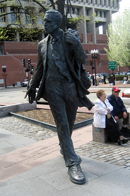 Boston - Faneuil Hall: Mayor Kevin White statue | Flickr ...