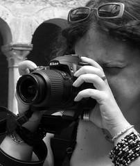 glasses, cameras & optics, digital camera, camera, white, cool, photograph, mirrorless interchangeable-lens camera, digital slr, monochrome photography, camera operator, monochrome, black-and-white, black, reflex camera,