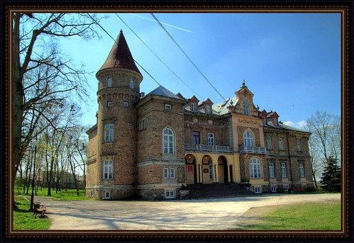 The palace complex - Łopuszno