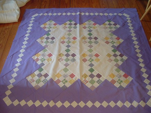 Finished quilt top, VMiP