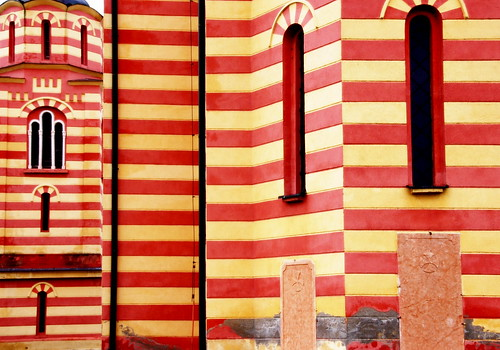 Striped Church