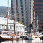 Tall Ships in Constitution Dock, Hobart