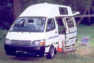 second highttop camper all seasons campervans campervan hire rental travel around australia budget tourism backpacker australian