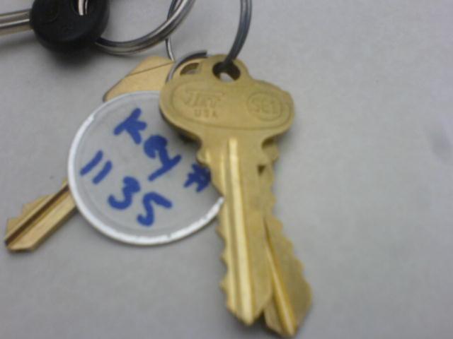 apartment keys!