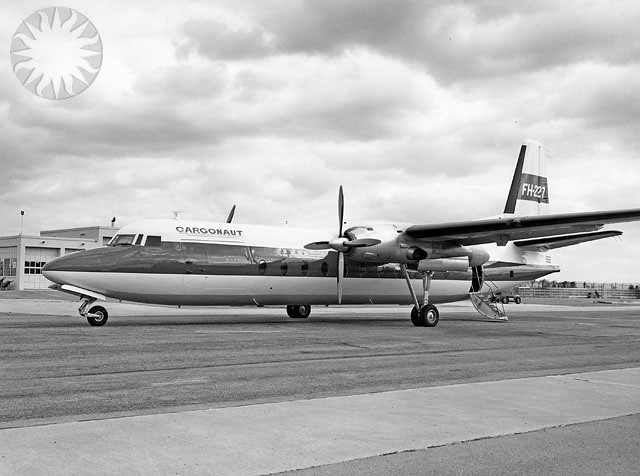 FAIRCHILD F-227D CARGONAUT | SI Neg. 2004-55411. Date: na ...