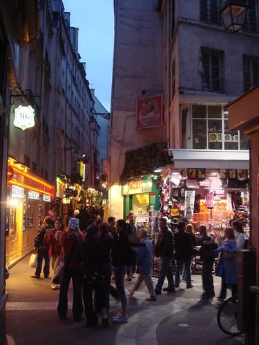 Latin Quarter at dusk